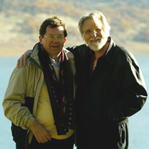 06 With Neale Donald Walsch on the movie set (2005)