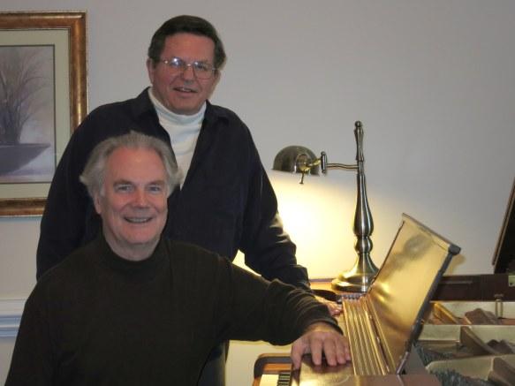 07 With composer Edmund Barton Bullock (2016)